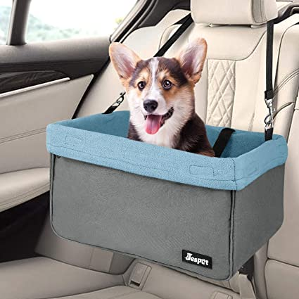 New Dog Booster Car Seat Safety Belt Pet Puppy Travel Auto Basket Carrier Bag