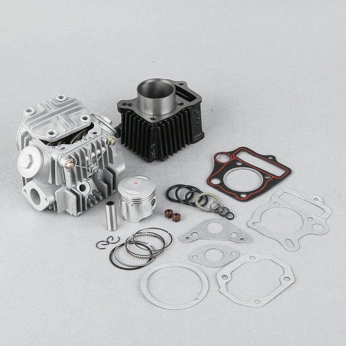 Xfmt 70cc Engine Cylinder Rebuild Kit For Honda Atc70 1970 Ct70 Spark Plug Crf70 Trx70 Xr70 495cm3 Automotive