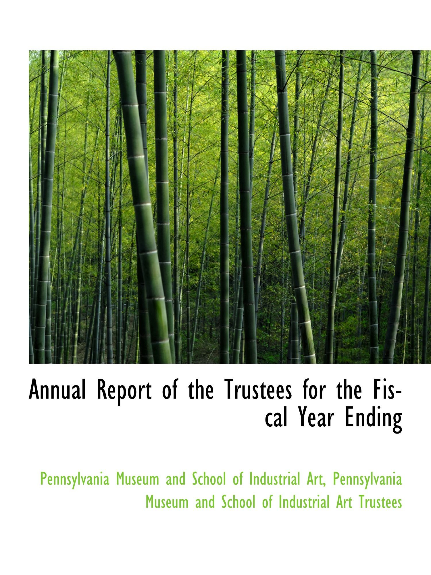 Download Annual Report of the Trustees for the Fiscal Year Ending pdf