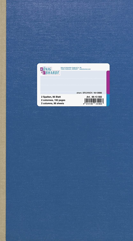 König & Ebhardt 8613582 Geschäftsbuch   Spaltenbuch (16,5 x x x 29,7cm mit festem Kopf, 80g m²) B001QPSBKE | Einzigartig  e0e615