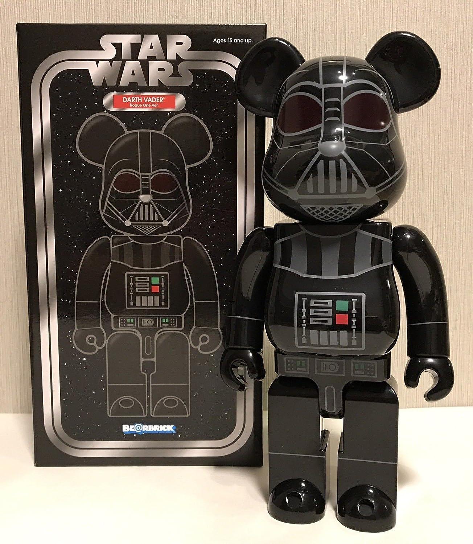 da751e23 Amazon.com: Be@rbrick Star Wars Darth Vader Rogue One 400%: Toys & Games