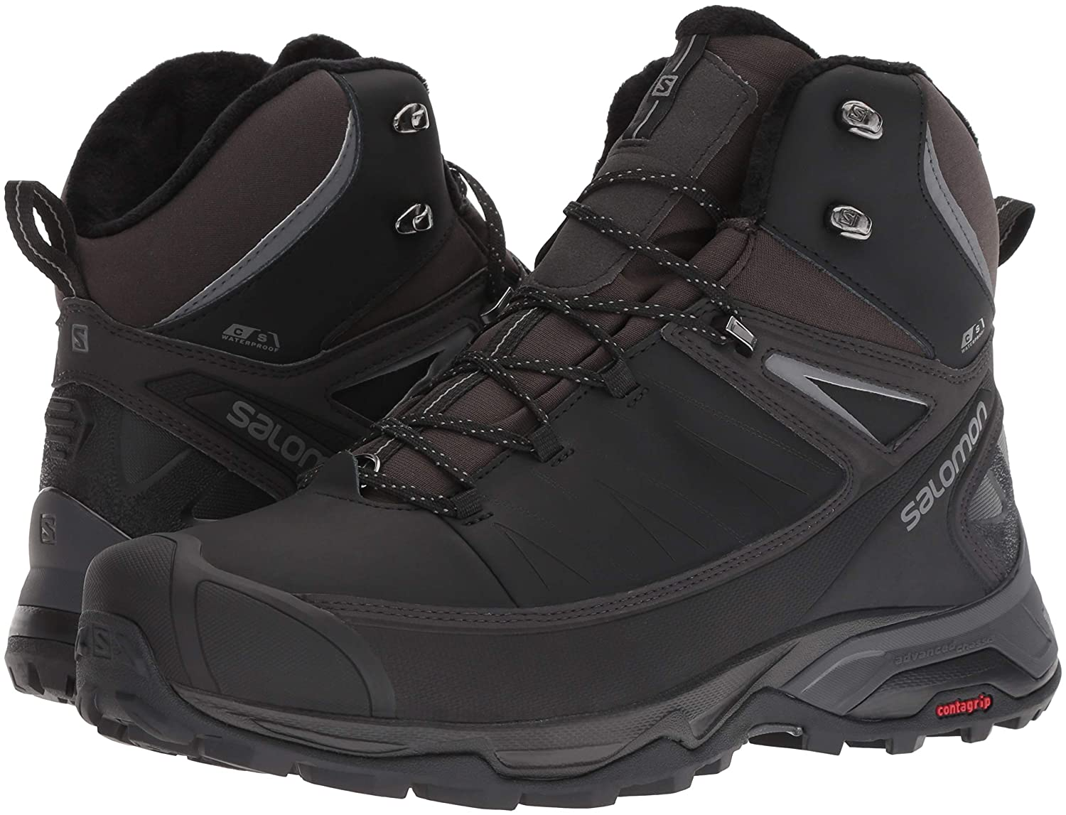 Discounted Salomon X Ultra Mid Winter CS WP BlackPhantom