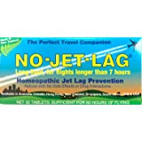 No-Jet-Lag Homeopathic Jet Lag Prevention (Long Haul - For Flights Longer than 7 Hours) 32 Tablets