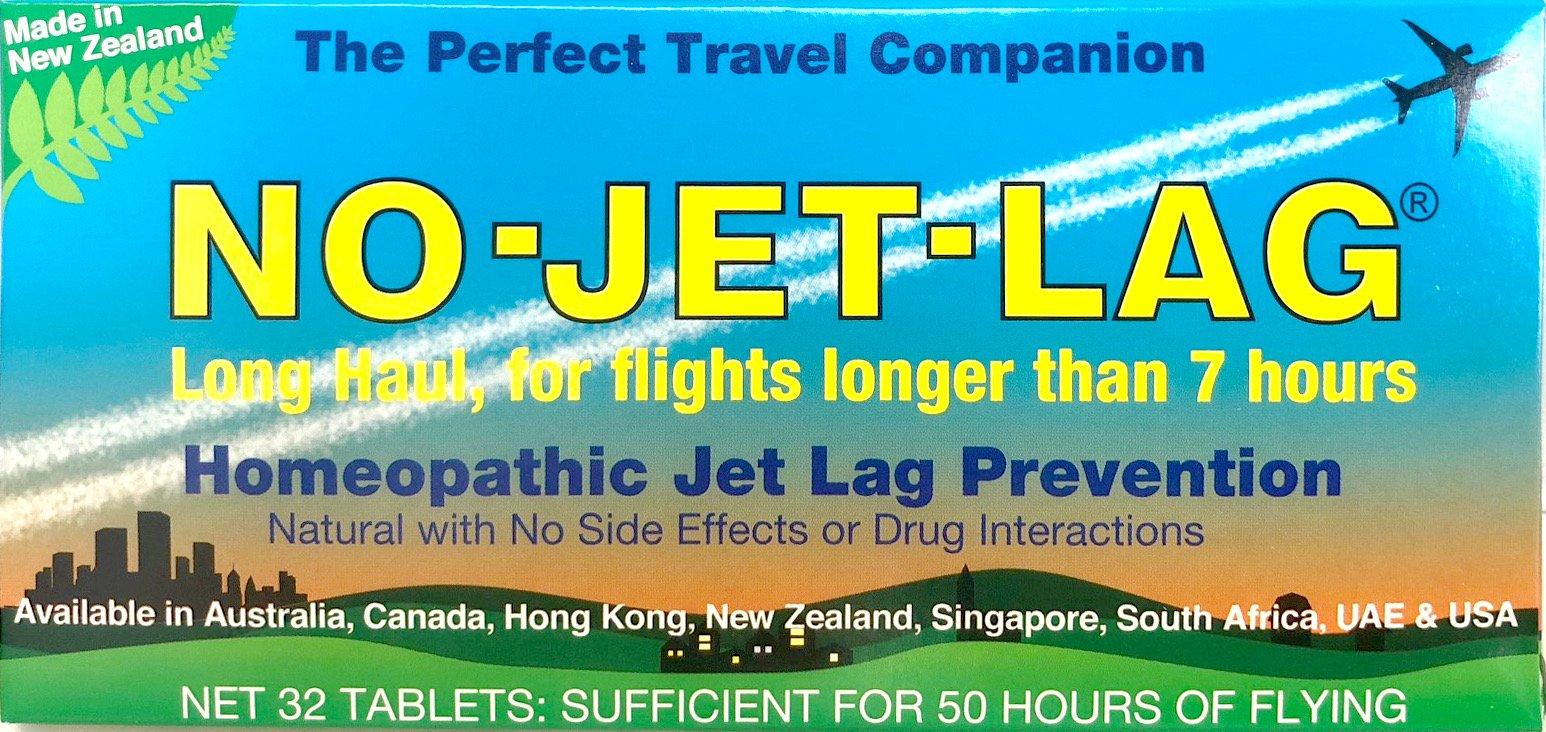 Miers Laboratories No-Jet-lag Homeopathic Jet Lag Prevention (Long Haul - for Flights Longer Than 7 Hours) 32 Tablets, 32 Count