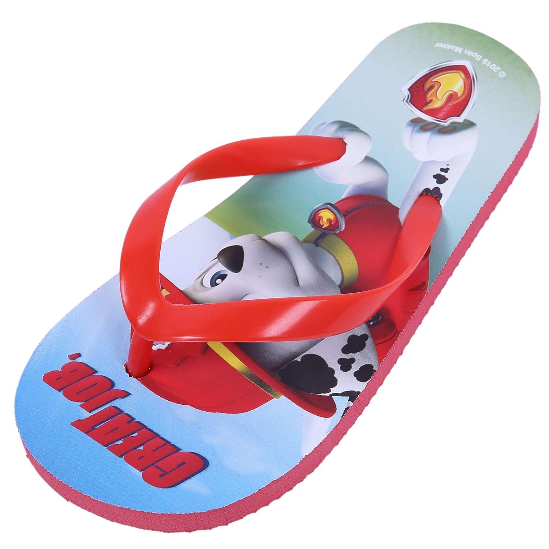 Red Flip-Flops for Boys PAW Patrol Nickelodeon