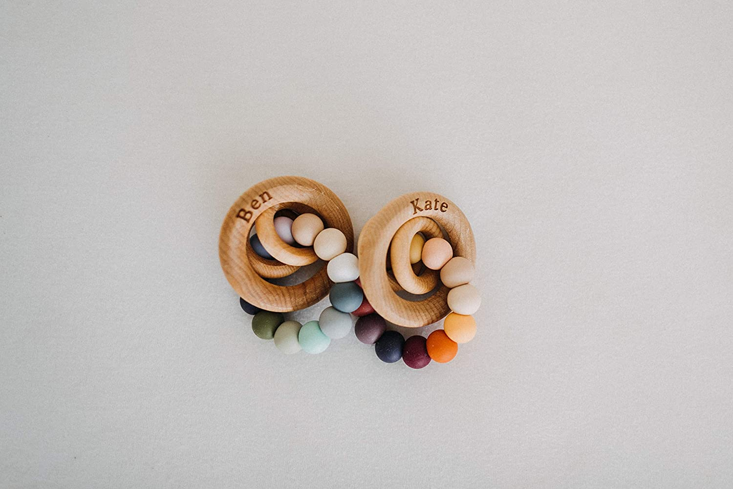 Storm Saturn Ring Baby Teether Rattle