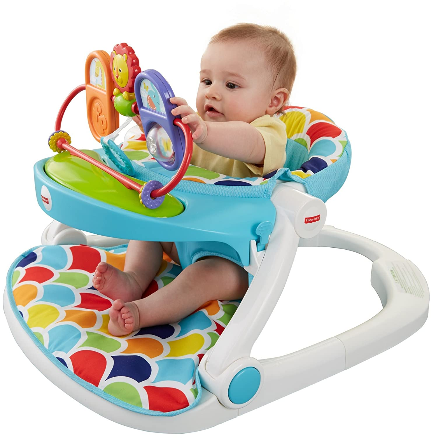 Amazon Fisher Price Sit Me Up Floor Seat with Toy Tray Baby