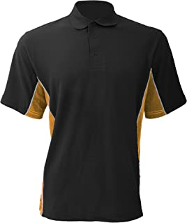 product image for Gamegear Mens Track Pique Short Sleeve Polo Shirt Top
