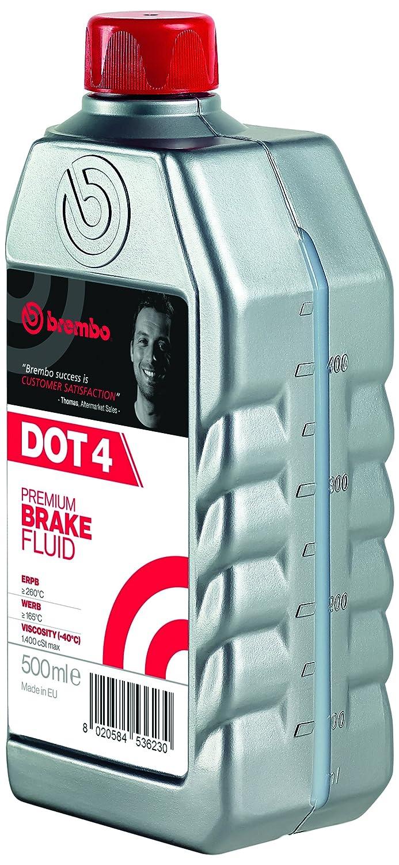 Liquido Freno Brembo DOT 4, 500 mL Brembo S.p.A. L04005