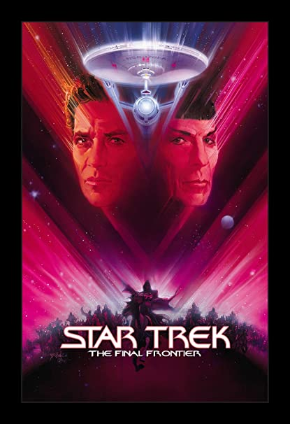 Image result for star trek v poster