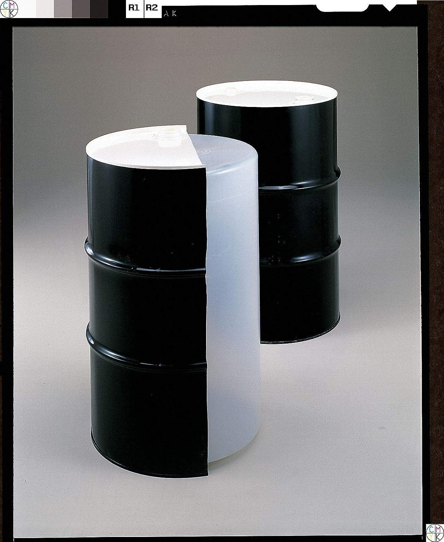 55 gal Black Steel Closed Head Transport Drum-Each