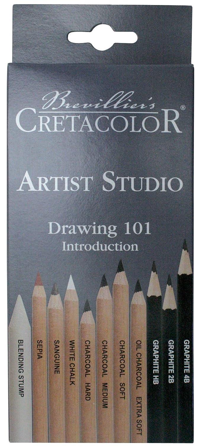 CRETACOLOR - K464.11 - Set de 11 Crayons - Etui Carton