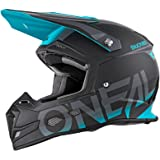 O'Neal 5Series Blocker MX Motocross Helm Enduro Trail Quad Cross Offroad Visier, 0618-0
