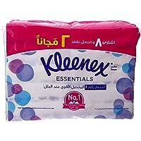 Kleenex Essentials Facial Tissue 148 Sheets x 10