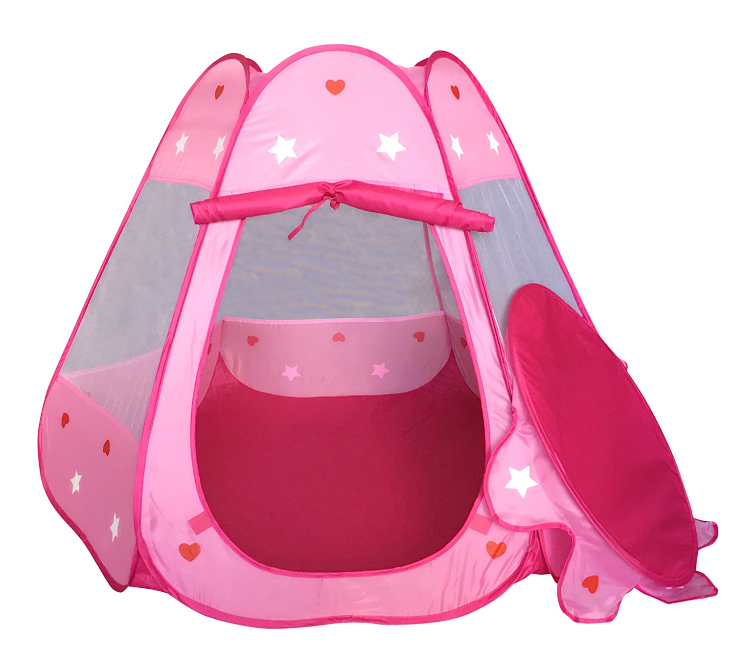 Amazon.com SueSport Girls Pink Princess Play Tent Indoor and Outdoor Children Play Tent for Girls Toys u0026 Games  sc 1 st  Amazon.com & Amazon.com: SueSport Girls Pink Princess Play Tent Indoor and ...
