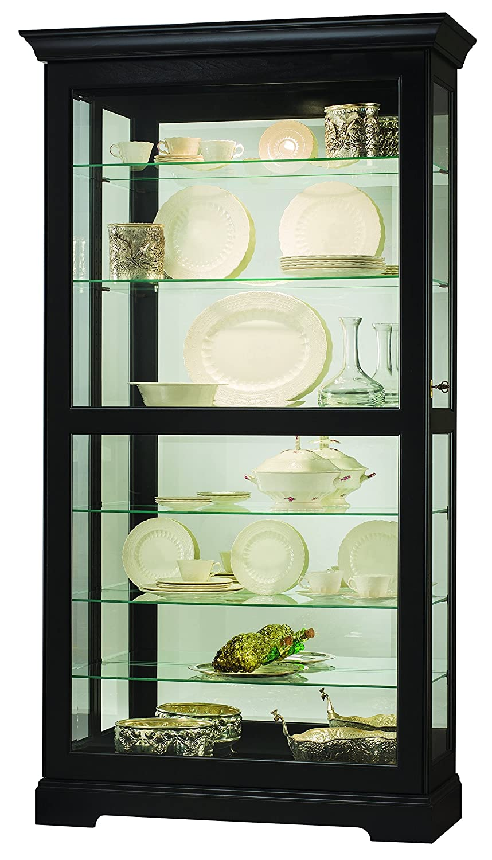 Amazon.com: Howard Miller Tyler II Curio/Display Cabinet: Kitchen ...