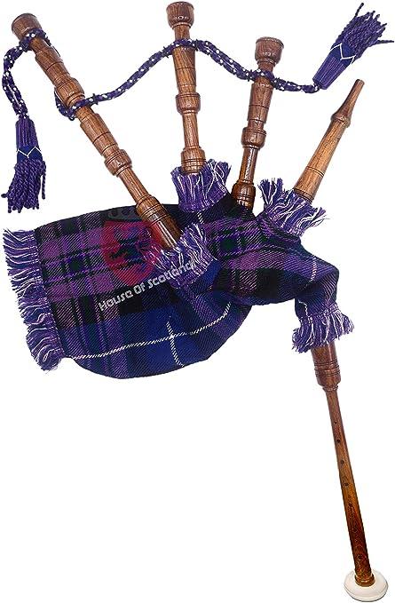 Kids Junior Playable Bagpipes Pride Of Scotland by TARTAN TWEEDS