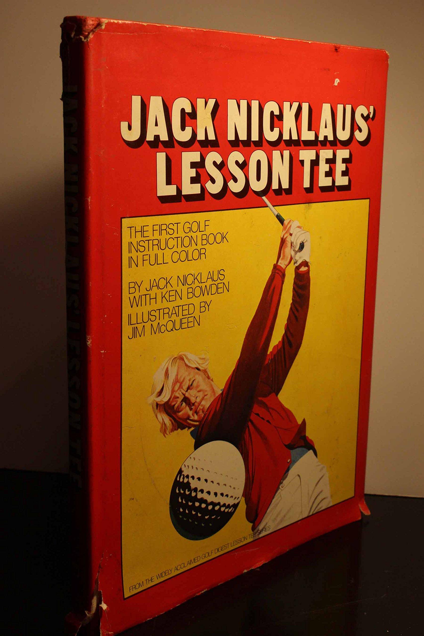 jack nicklaus lesson tee jack nicklaus 9780914178118 amazoncom books