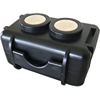 Optimus Twin Magnet GPS Tracker Case - Waterproof - Neodymium Magnets