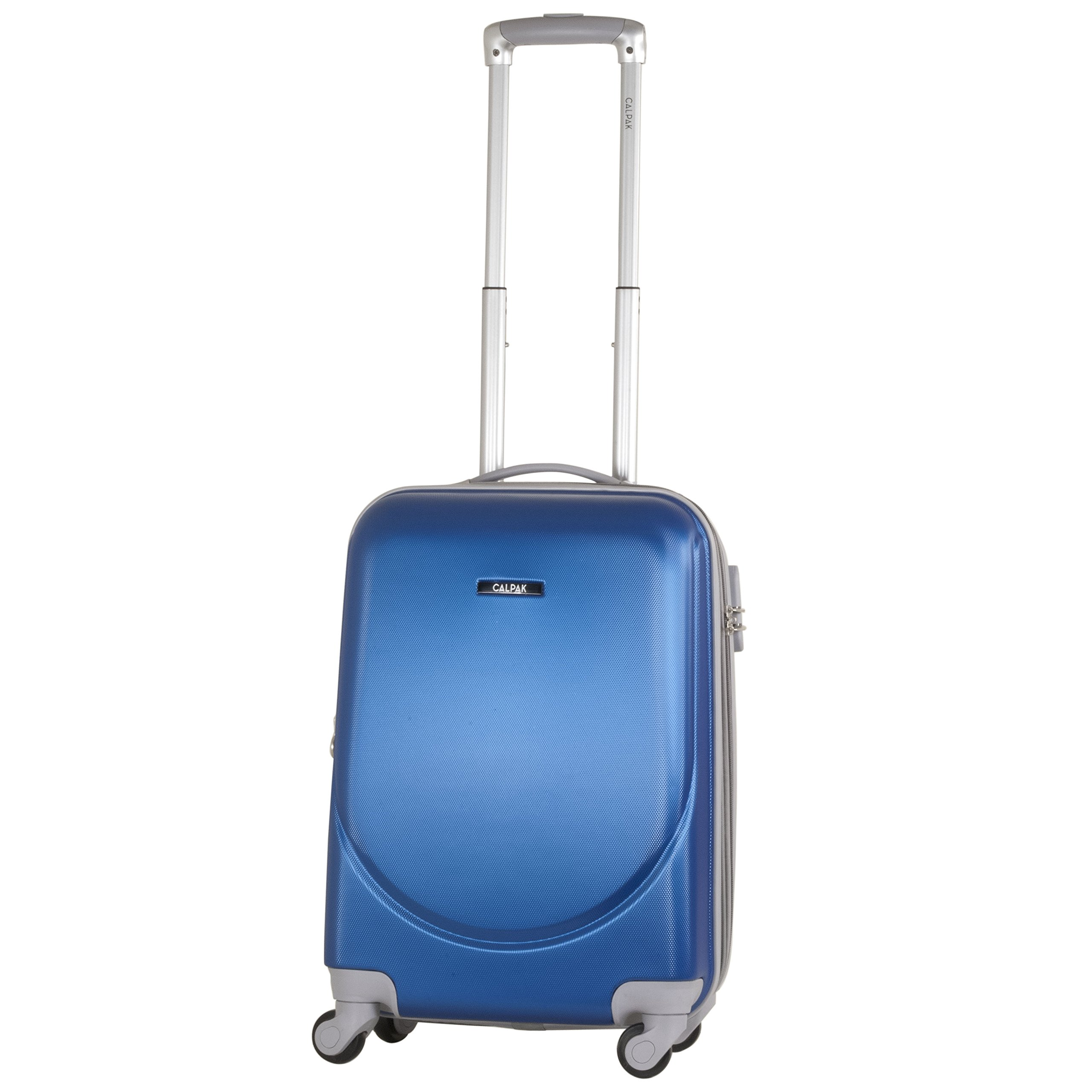 Calpak Silverlake Blue 20-inch Carry-on Lightweight Expandable Hardsided Upright Suitcase by CalPak
