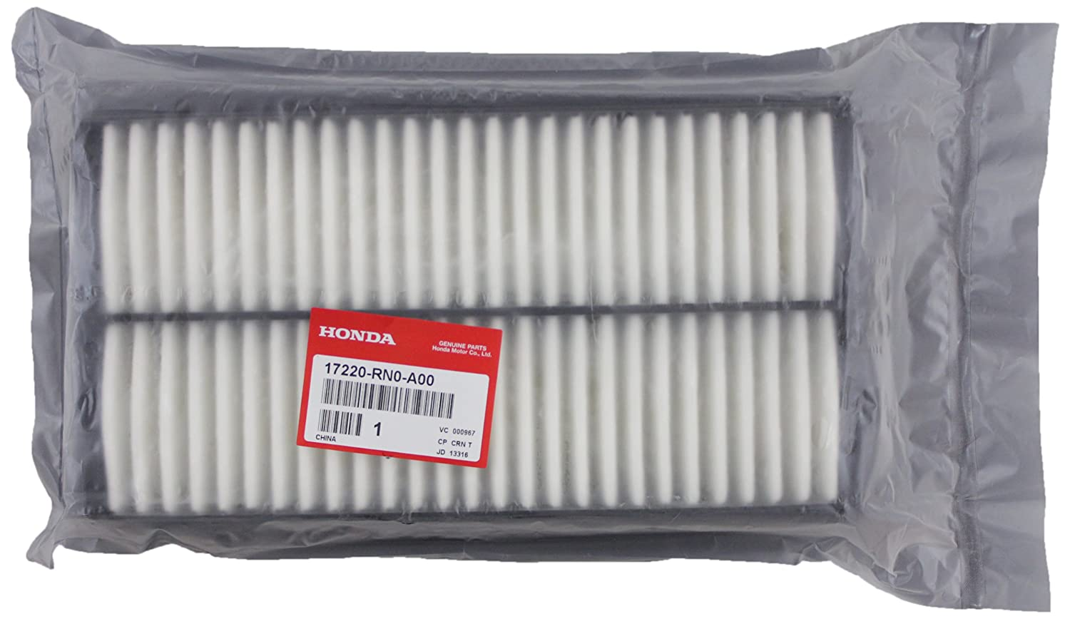 Genuine Honda Parts 17220 Rn0 A00 Air Filter For 2001 Crv Discount Factory Oem And Pilot Automotive