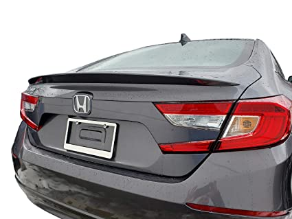 2018 Honda Accord Sedan >> Factory Style Lip Spoiler For The Honda Accord Sedan 2018 2019 Spoiler Painted In The Factory Paint Code Of Your Choice 577 830m With 3m Tape Included
