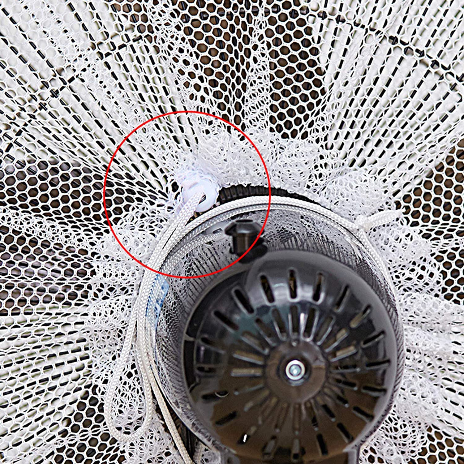 White Baby Kids Finger Protector Safety Mesh Nets Cover Fan Guard Dust Cover