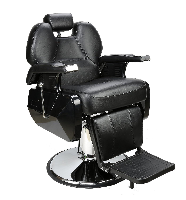 BarberPub All Purpose Hydraulic Reclining Barber Chair Salon Spa Beauty Chair Styling Equipment...