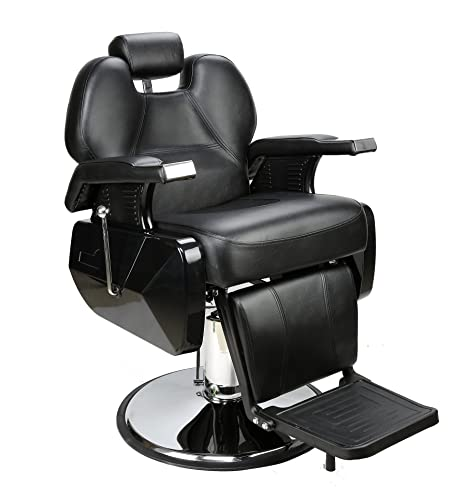 BarberPub All Purpose Hydraulic Reclining Barber Chair Salon Spa Beauty Chair Styling Equipment...