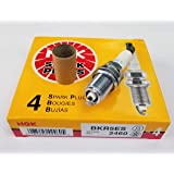NGK (2460) BKR5ES Spark Plug - Pack of 4
