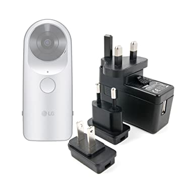 DURAGADGET Kit De Adaptadores con Cargador para Cámara LG ...