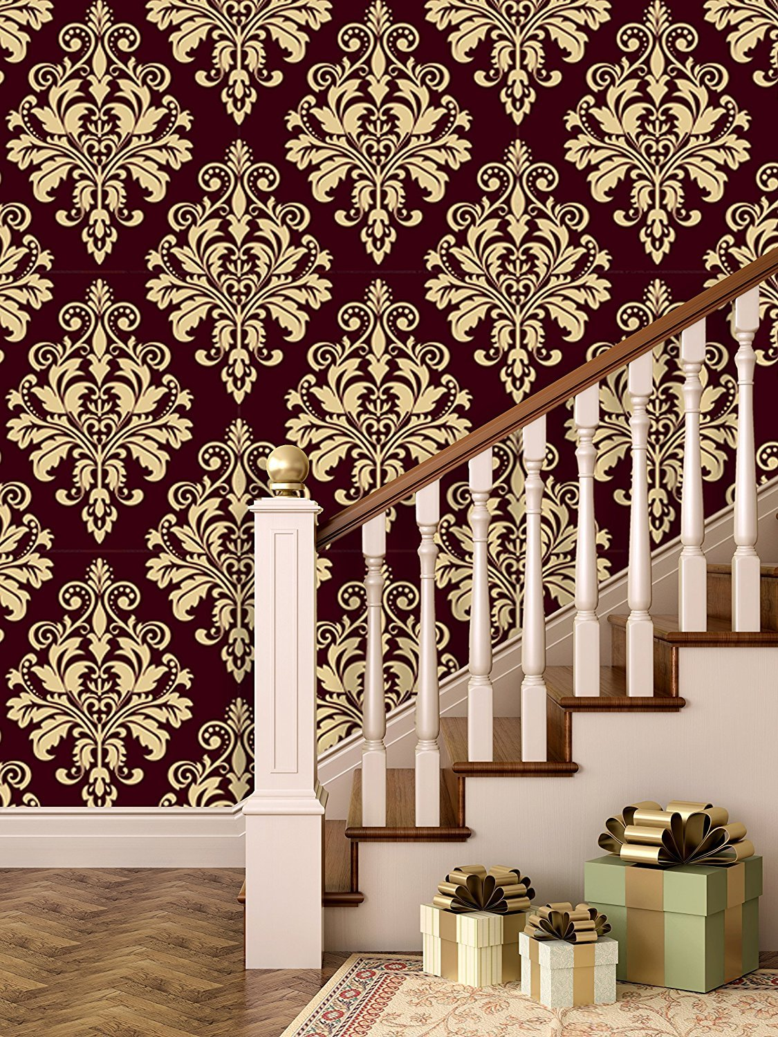 Paper Plane Design Brick Wallpapers For Wall Large Roll 45 Sqft