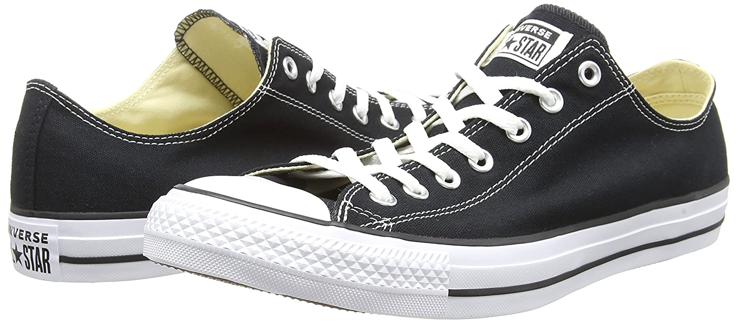 Converse Unisex Classic Chuck Taylor All Star Low Top Sneakers B01CTF92S4 US Men 11 / US Women 13|Black