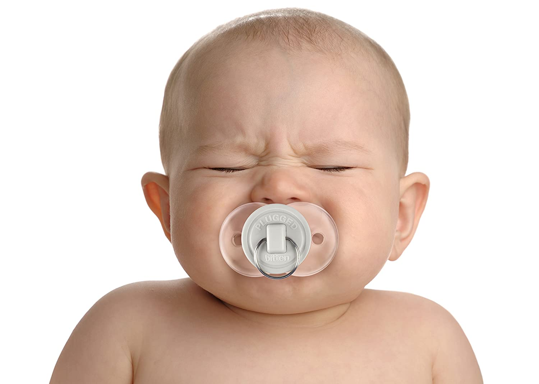 Fred Chill hasta 6 mesas Baby Chupete con dise/ño de Bigote