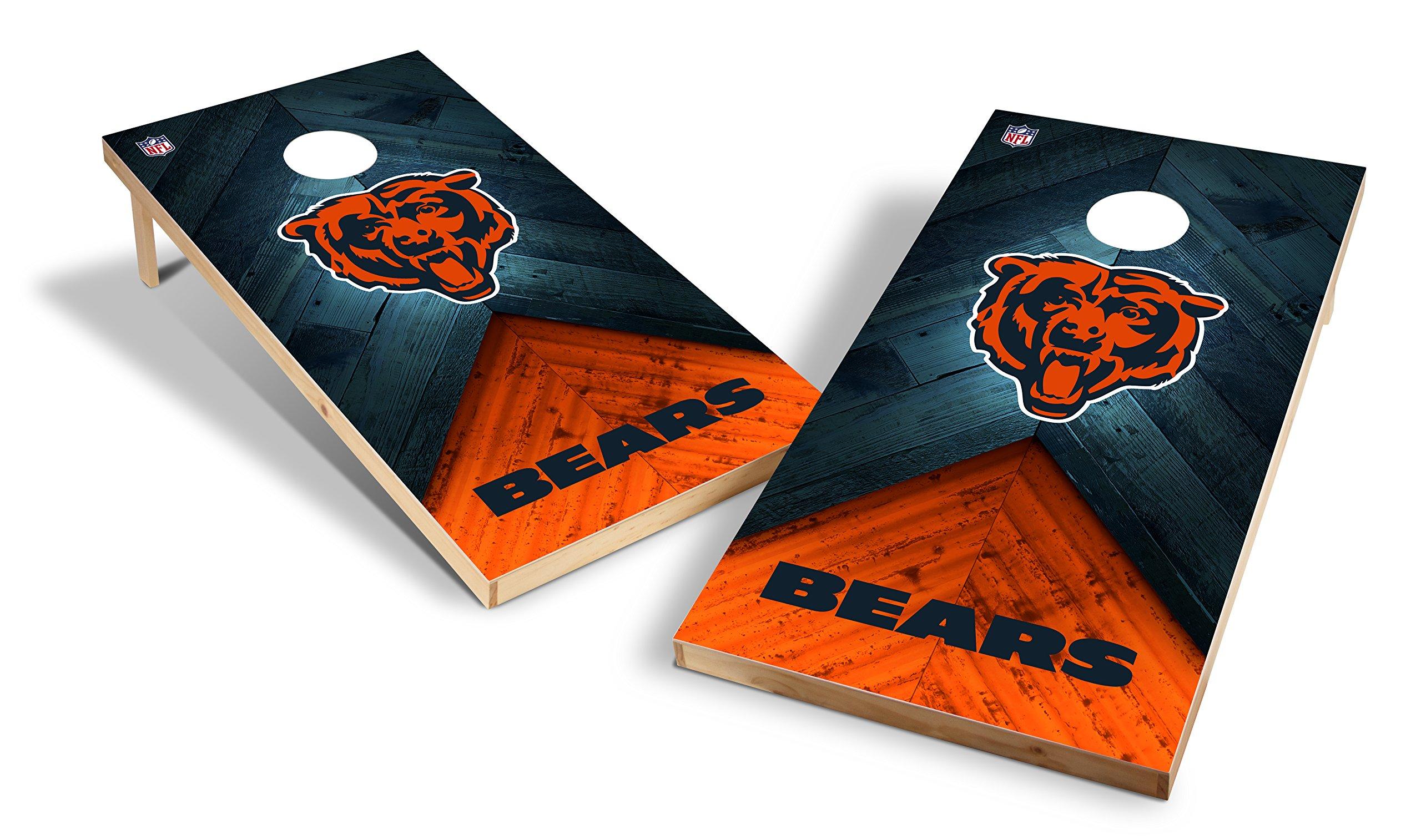 Wild Sports NFL 2'x4' Chicago Bears Cornhole Set