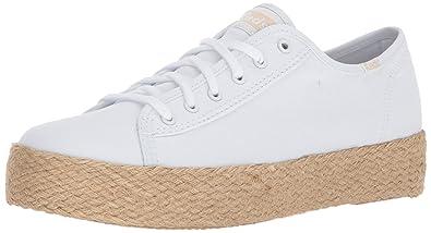 Keds Damen Tpl Kick Jute Black Sneaker, Schwarz (Black), 39 EU