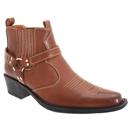 Westernstiefel wie neu mit Stiefelkette