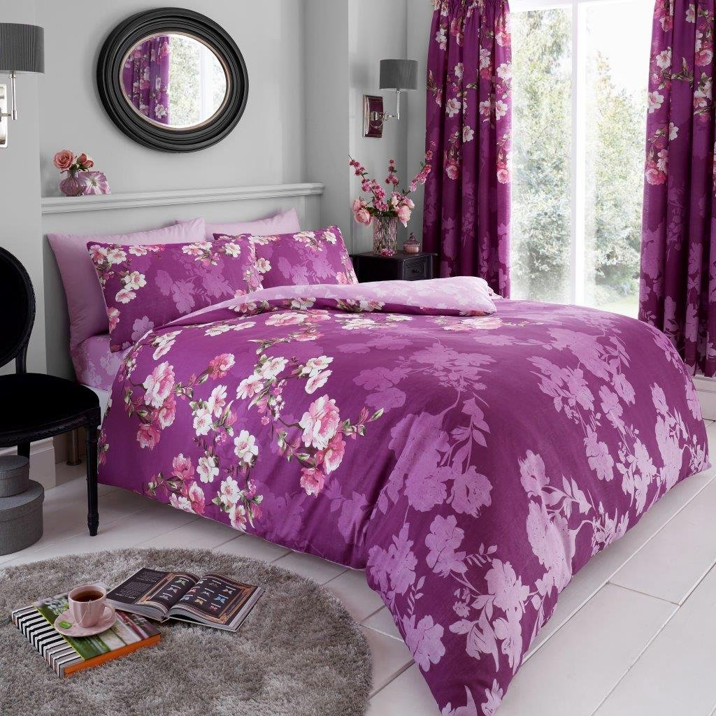 Beautiful Rose Duvet Cover Quilt Cover Sets Reversible Bedding Sets All Sizes