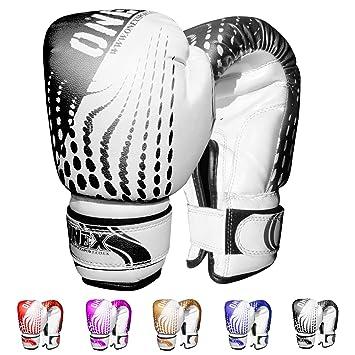 Junior 4oz 6oz 2oz Kids Boxing Gloves Children Mitts Punch Bag Gel Pad Training
