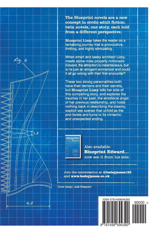 Blueprint lizzy amazon lesley james 9781499694390 books malvernweather Images