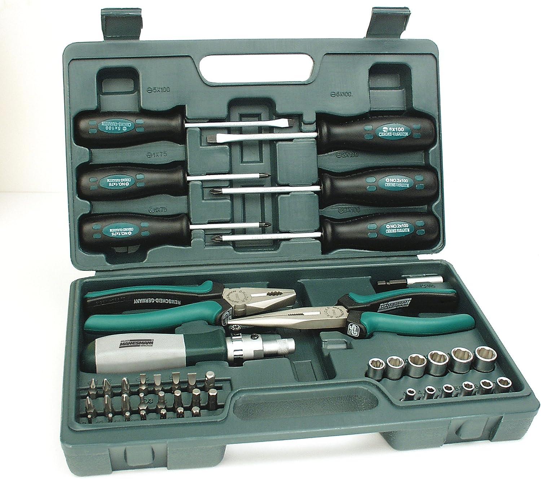 Mannesmann - M29110-45 piezas Juego de herramientas combinadas: Amazon.es: Bricolaje y herramientas