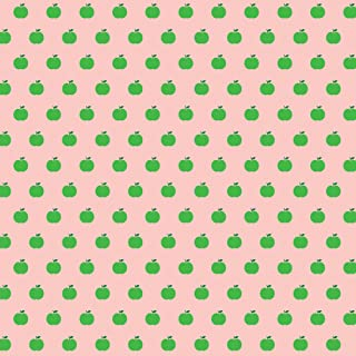 product image for WallCandy Arts Removable Wallpaper, Apple Pink/Green