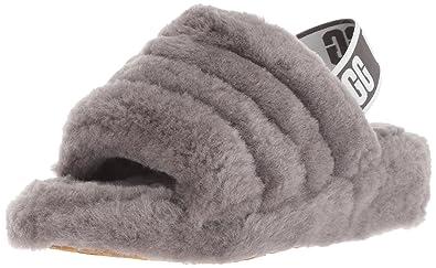 1e7eec22189e Amazon.com  UGG Women s Fluff Yeah Slide Sandal  Shoes