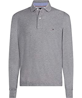 Tommy Hilfiger TJM Stretch Slim Longsleeve Polo Hombre: Amazon.es ...