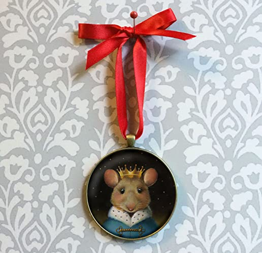 Mouse King Ornament- Christmas Mouse Ornament - Nutcracker Mouse King - Amazon.com: Mouse King Ornament- Christmas Mouse Ornament
