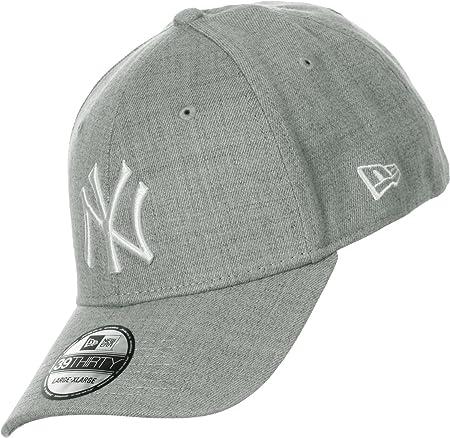 68fb9369613 New Era Baseball Cap LA Dodgers MLB Basic 39 Thirty Stretch Back - Grey -  Small