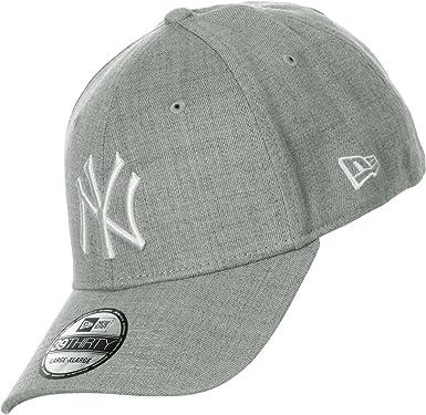 New Era 39thirty League NY Yankees Gorra S/M gray/white: Amazon.es ...