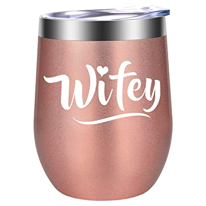 Buy Gifts For Wife Wifey Wife Gifts From Husband Wife Christmas Gift Ideas Stocking Stuffers For Wife Funny Birthday Wedding Bridal Shower Gifts For Wife Bride To Be