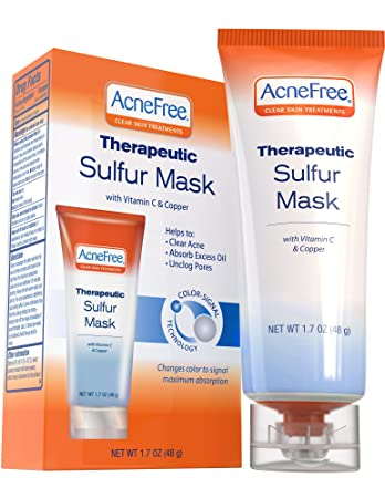 Amazon Com Acnefree Sulfur Mask 1 7 Oz Acne Treatment For Clearing