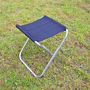 Portátil de Aluminio Silla Plegable Silla de Playa Barbacoa Silla de Camping Pesca pequeño Banco pequeño